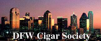 DFW Cigar Society; Actual size=240 pixels wide
